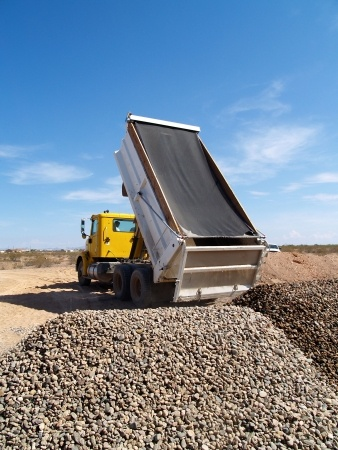 Gravel and metal delivery North Shore and Auckland