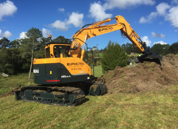 Digger Hire North Shore and Auckland